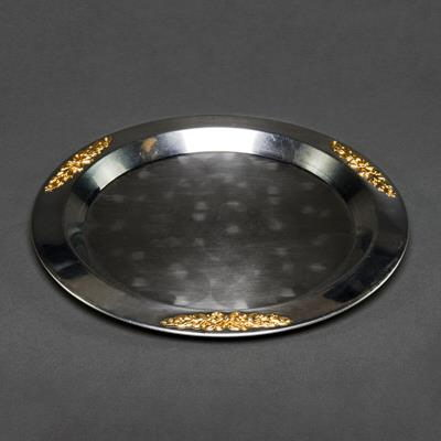 Where to find 20   TRAY - SILVER WITH GOLD TRIM in Orange County