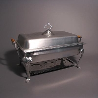 Rental store for 8QT CHAFING DISH   OBLONG - 2 HALF PANS in Orange County CA