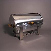 Rental store for 8QT CHAFING DISH   ROLL TOP - 2 HALF PAN in Orange County CA