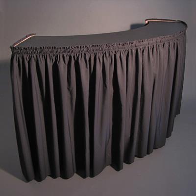 6 Foot Serpentine Bar With Skirt Rentals Orange County Ca