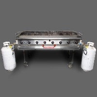 Rental store for DOUBLE PROPANE BAR-B-QUE, 2  X 5 in Orange County CA