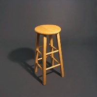 Rental store for NATURAL WOOD BAR STOOL in Orange County CA