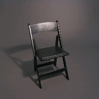 Rental store for BLACK WOOD CHAIR in Orange County CA