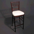 Rental store for MAHOGANY CHIAVARI BAR STOOL in Orange County CA