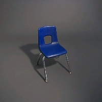 Rental store for STACKABLE BLUE CHILDREN S CHAIR in Orange County CA
