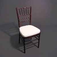 Rental store for MAHOGANY CHIAVARI CHAIR in Orange County CA