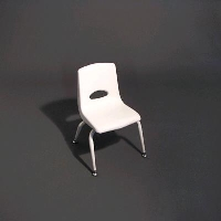 Rental store for STACKABLE WHITE CHILDREN S CHAIR in Orange County CA