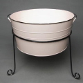 Rental store for PINK GALVANIZED TUB WITH STAND in Orange County CA