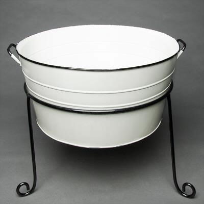 Where to find WHITE GALVANIZED TUB WITH STAND in Orange County