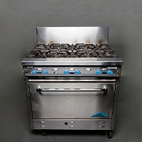 Rental store for SIX BURNER STOVE WITH OVEN in Orange County CA