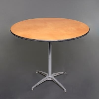 Rental store for 36   ROUND TABLE - SEATING HEIGHT in Orange County CA
