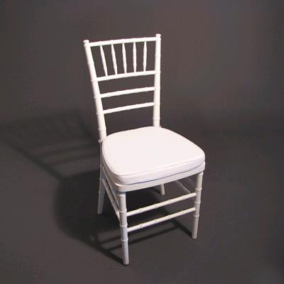 Where to find WHITE CHIAVARI CHAIR in Orange County