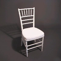 Rental store for WHITE CHIAVARI CHAIR in Orange County CA