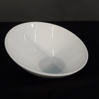 Where to find 9  WHITE SLANTED SERVING BOWL in Orange County