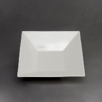 Rental store for 10  WHITE CHINA SQUARE BOWL in Orange County CA