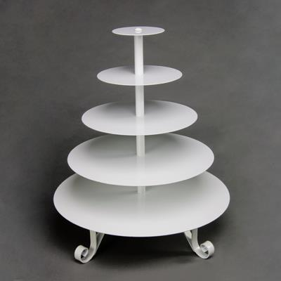 5 Tier Cupcake Stand White Rentals Orange County Ca Where