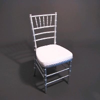Rental store for SILVER CHIAVARI CHAIR in Orange County CA