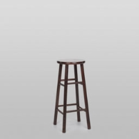 Rental store for MAHOGANY WOOD BAR STOOL in Orange County CA