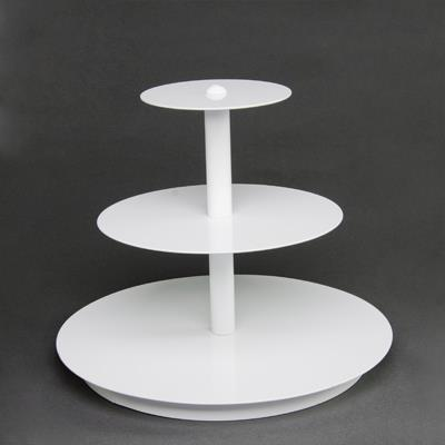 Where to find 3 TIER CUPCAKE STAND, WHITE in Orange County