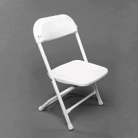 Rental store for FOLDING WHITE CHILDREN S CHAIR in Orange County CA