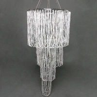 Rental store for CRYSTAL DRAPE CHANDELIER in Orange County CA