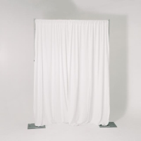 Rental store for 12  HIGH PIPE   DRAPE, WHITE VELOUR, FT in Orange County CA