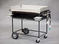 Rental store for PROPANE GRIDDLE ON CART, 36  X 20 in Orange County CA