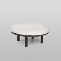 Rental store for ROUND BENCH CUSHION IVORY, 2 PIECES in Orange County CA