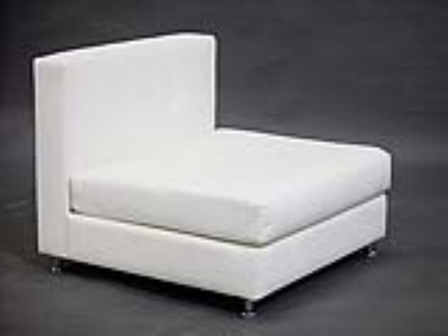 Where to find WHITE VINYL SECTIONAL MIDDLE in Orange County