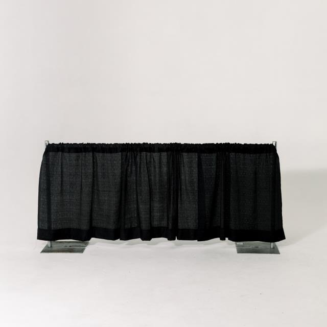Where to find 3  HIGH PIPE   DRAPE, BLACK - PER FOOT in Orange County