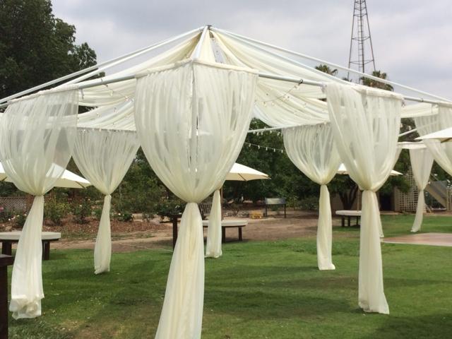 20x20 White Ceiling Drape Kit Rentals Orange County Ca