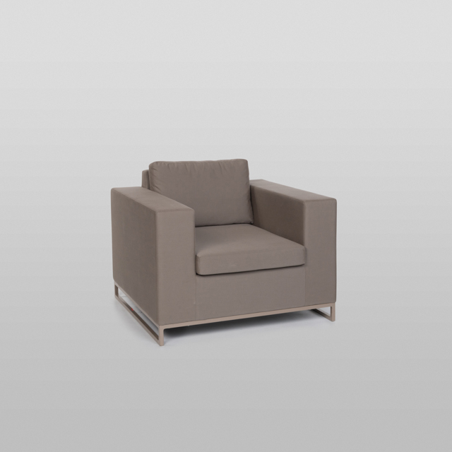 Where to find SOUTH BEACH SUNBRELLA ARMCHAIR, TAUPE in Orange County