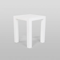 Rental store for WHITE GLOSS PUB TABLE in Orange County CA