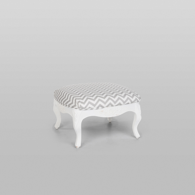 Where to find VINTAGE OTTOMAN GREY CHEVRON in Orange County