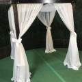Rental store for FRUITWOOD CABANA FABRIC SIDE DRAPERY in Orange County CA