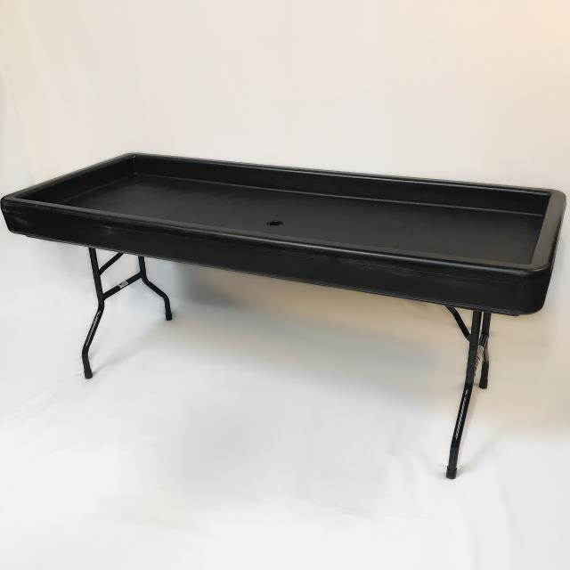 Where to find FILL AND CHILL TABLE, BLACK, 6  X 30 in Orange County