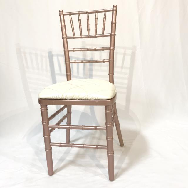 Where to find ROSE GOLD CHIAVARI CHAIR in Orange County