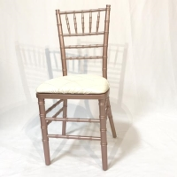 Rental store for ROSE GOLD CHIAVARI CHAIR in Orange County CA