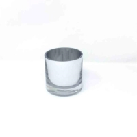 Rental store for SILVER GLASS VOTIVES in Orange County CA