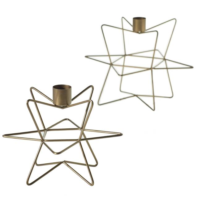 Where to find WIRE STAR CANDLEHOLER, SET OF 2 in Orange County