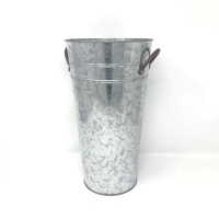 Rental store for GALVANIZED VASE, SMALL in Orange County CA