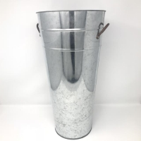 Rental store for GALVANIZED VASE, LARGE in Orange County CA
