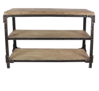 Rental store for WOOD CONSOLE TABLE in Orange County CA