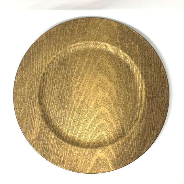 Where to find FAUX WOOD CHARGER, BRONZE in Orange County
