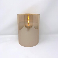 Rental store for POURED CANDLE, CHAMPAGNE GLASS, MEDIUM in Orange County CA