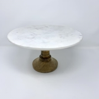 Rental store for CAKE STAND 12 , MARBLE   WOOD in Orange County CA