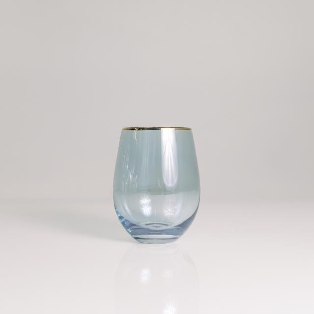 Where to find SKY STEMLESS 16OZ, GOLD TRIM in Orange County