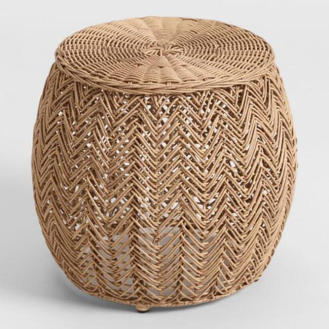 Where to find BOHO RATTAN STOOL in Orange County
