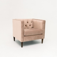 Rental store for PENELOPE ARM CHAIR, PINK VELVET in Orange County CA