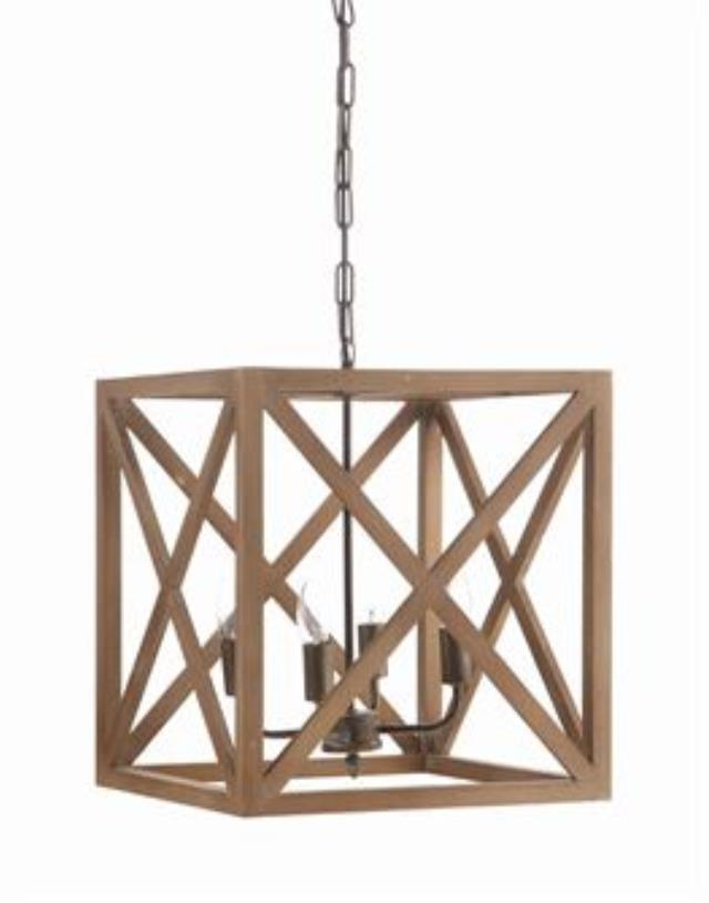 Where to find SQUARE WOOD CHANDELIER in Orange County